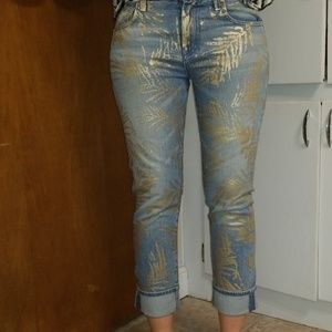 7 For All Mankind Cropped relax skinny size 24